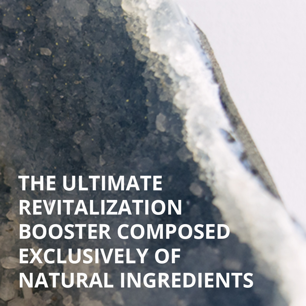 The ultimate revitalisation booster composed exclusively of natural ingredients